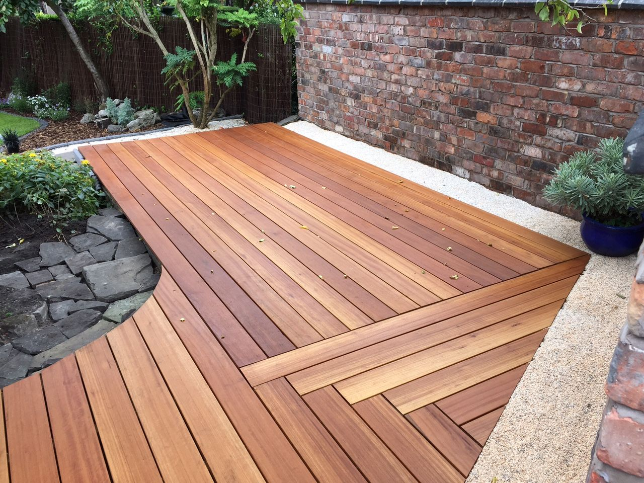Yellow balau hardwood deck image thanks to conor mulrooney http outdoor living baanklon Images