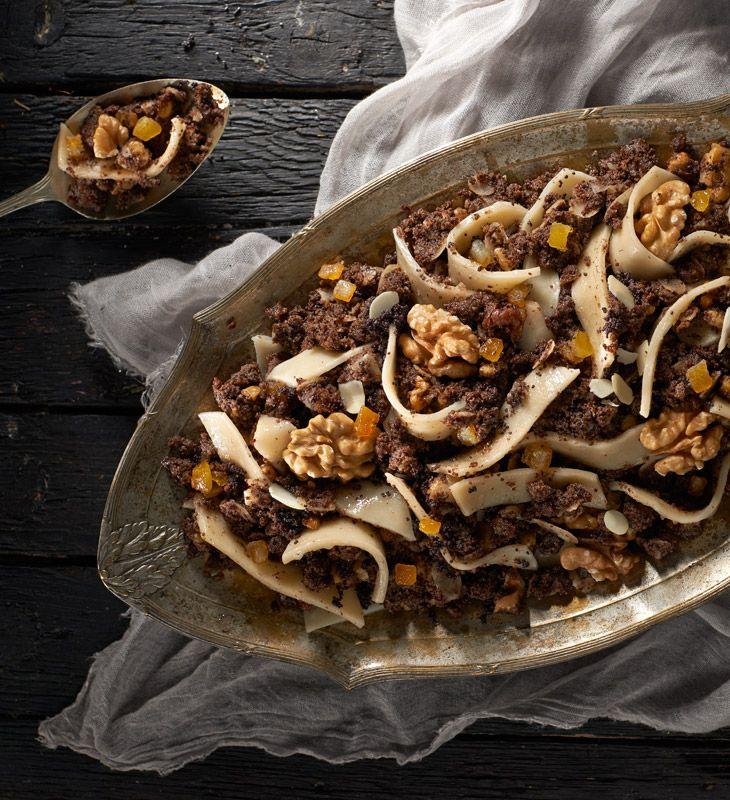 Kluski Z Makiem Przepis Recipe Food Recipes Christmas Dishes