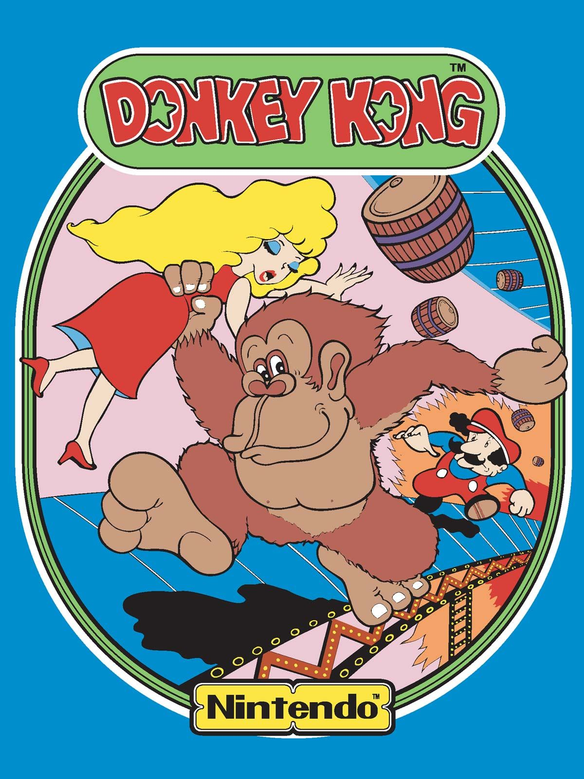 Donkey Kong Side Art The book