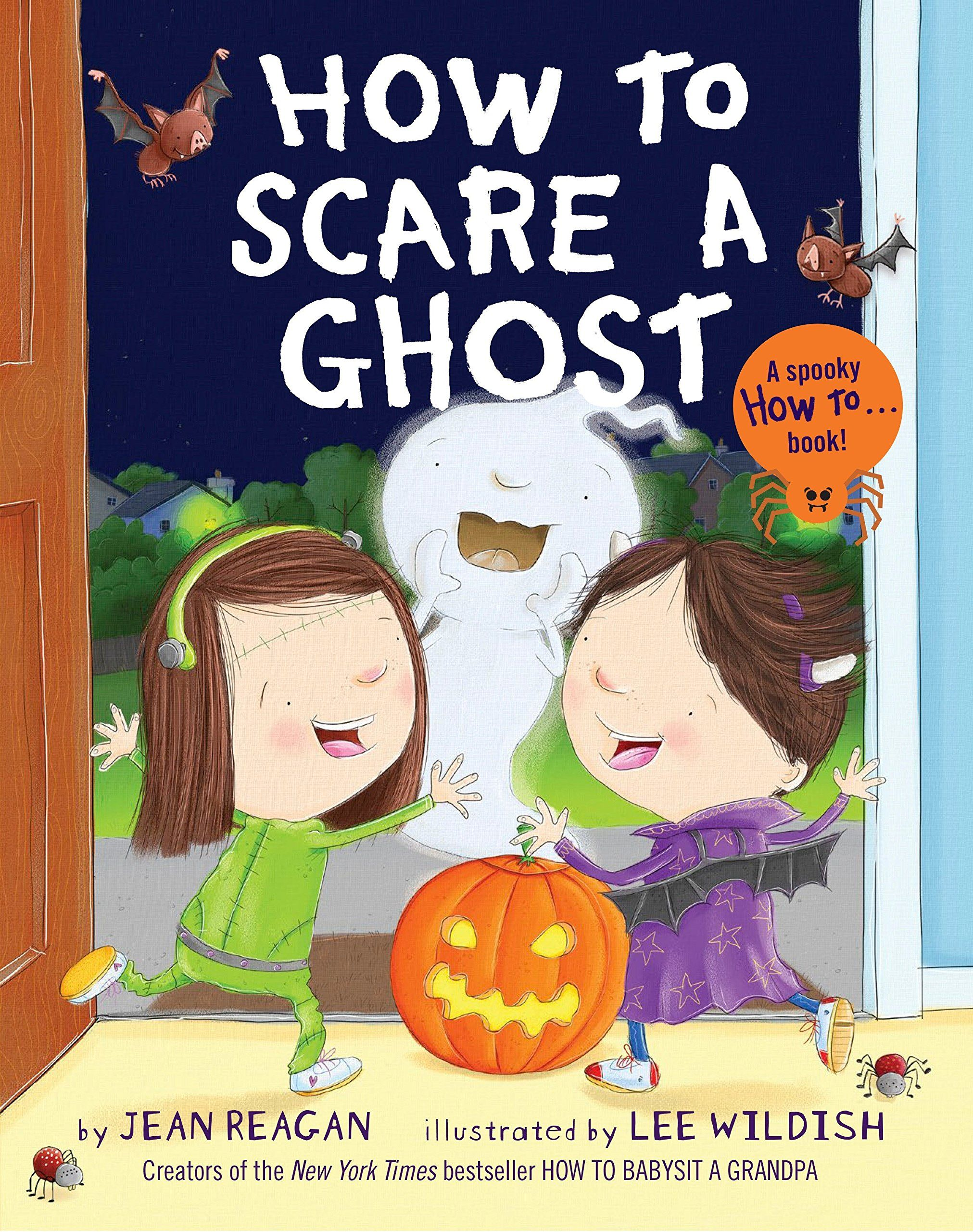 how to scare ghosts