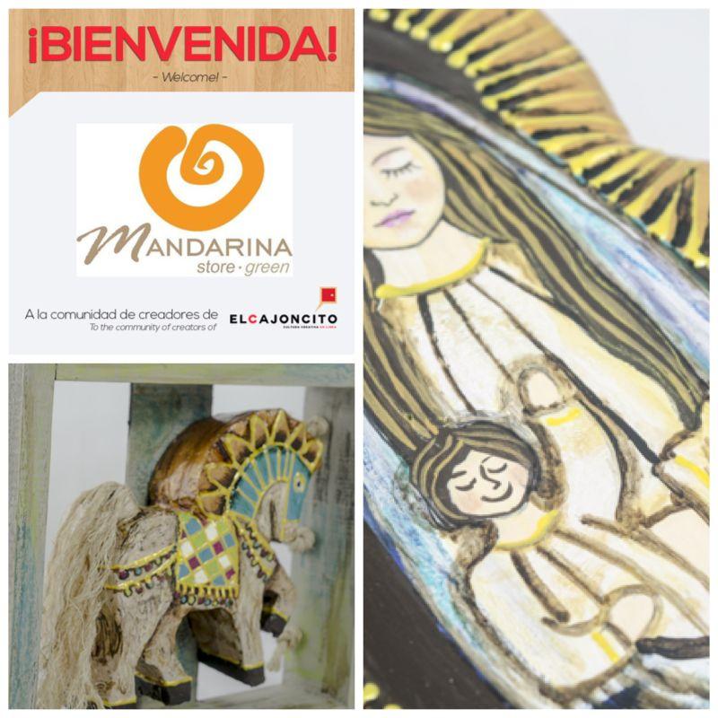 Les presentamos las creaciones de doña Ana Mercedes Valderrama, la artista detrás de Mandarina. ¡Bienvenida! Adquiera sus obras ➽ ➽ ➽ http://bit.ly/1t4sDxL #MadeinCostaRica #HechoaMano #ParaCasa #Mandarina