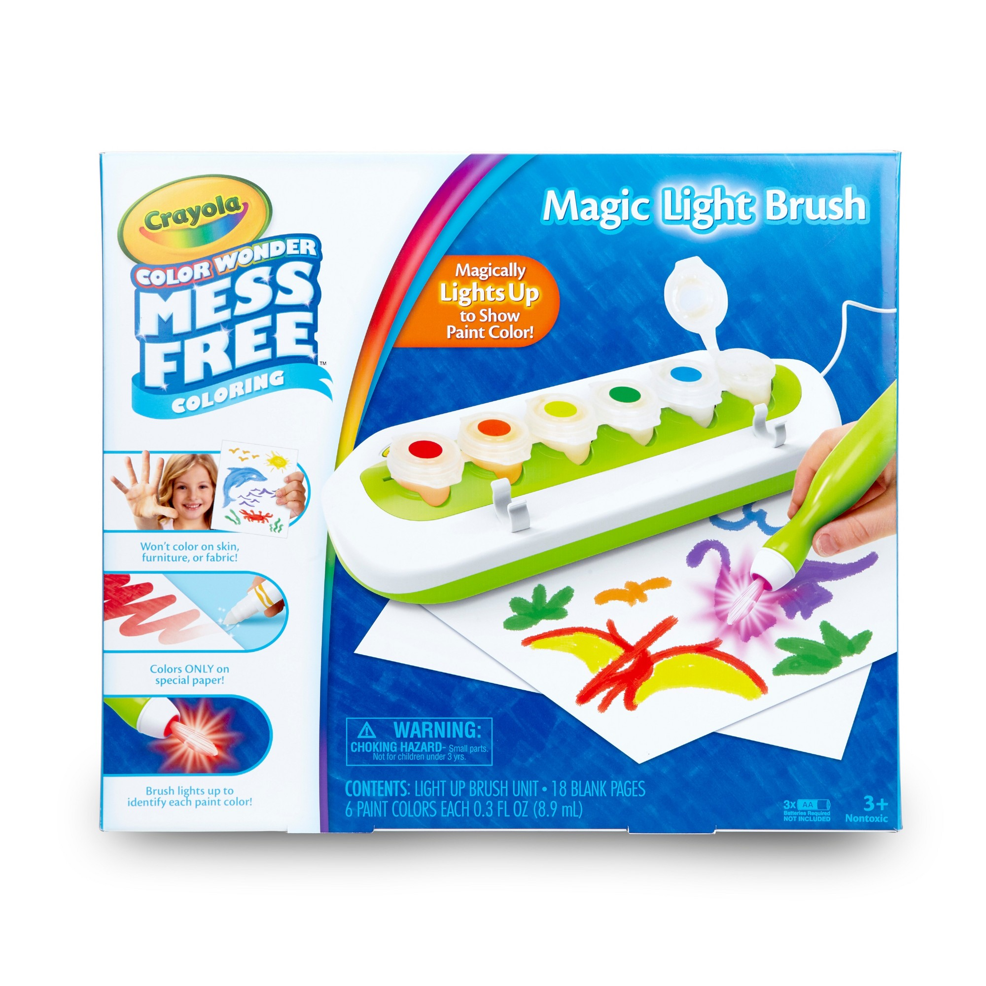Crayola Color Wonder Magic Light Brush Drawing Pad Products