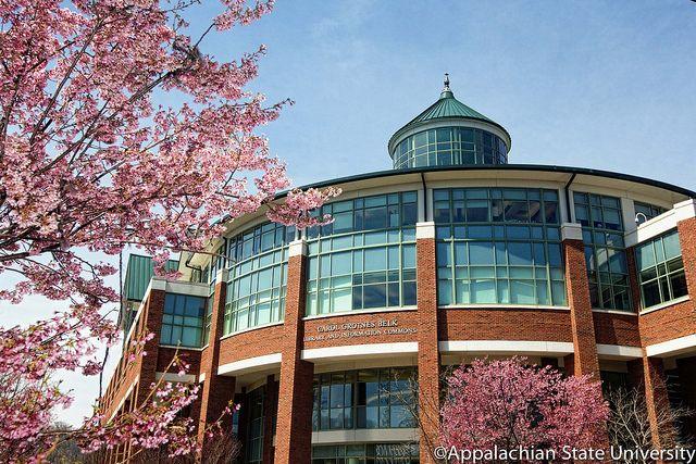 Belk Library College life, Western north carolina