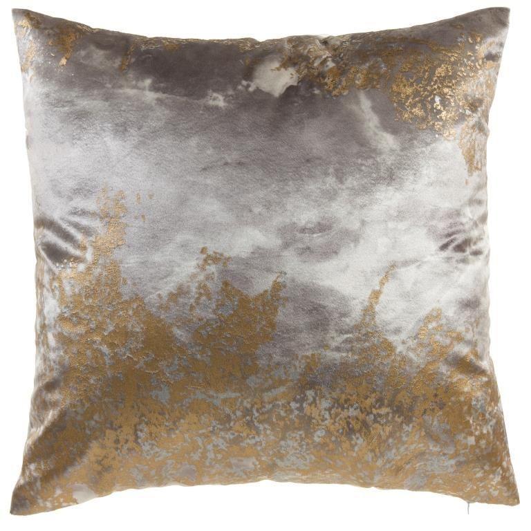 Cloud9 Design Zen Series Gold And Silver Decorative Pillows Silver Decorative Pillows Gold Decorative Pillows Silver Pillows