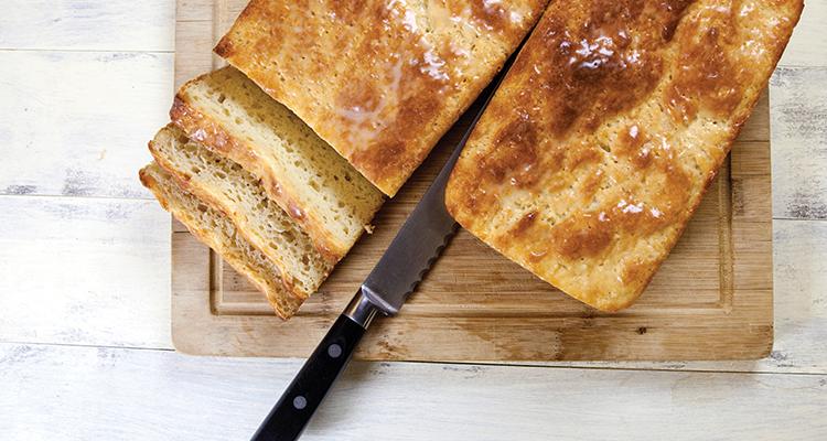 Gluten Free White Bread by Todd Leonard CEC