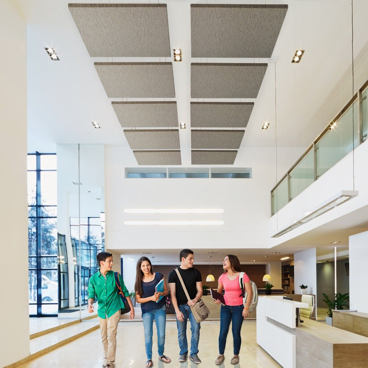 suspended ceilings wooden acoustic prod product celenit ceiling composite panel