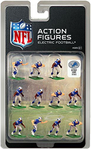 Detroit Lions Home Jersey NFL Action Figure Set   Want to know more ... 8650d22bd