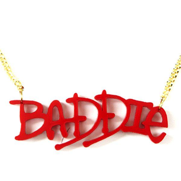 Baddie Necklace You Best Accessorise Pinterest Baddie