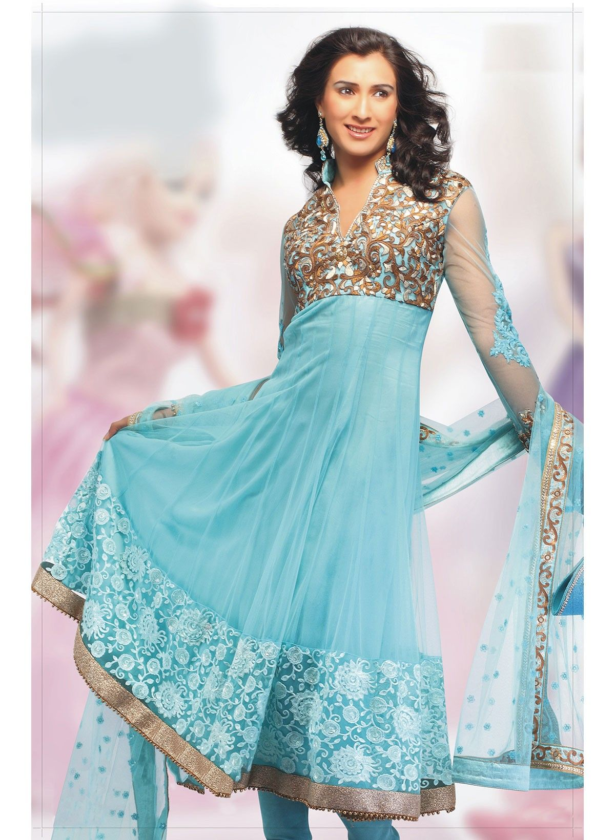 In different colors | Salwar/Churidhar Kameez | Pinterest | Anarkali ...
