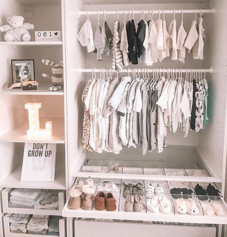 Inspirierende Ideen für über 100 Babyzimmer | Rangement ...