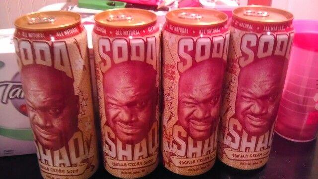 Shaq Soda!!
