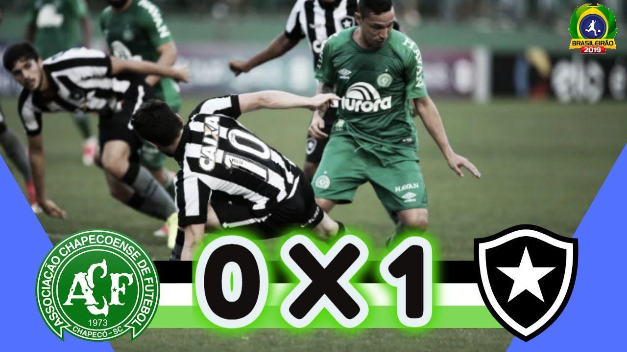 Chapecoense 0 x 1 Botafogo 35ª rodada Melhores Momentos