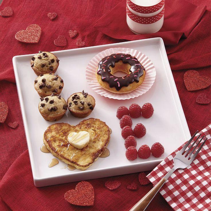 LOVE Valentine's Day Breakfast Ideas