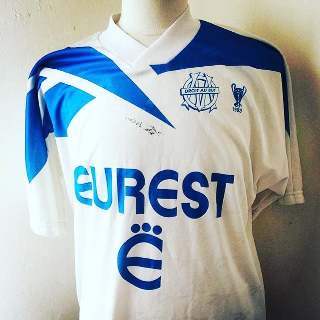 199495 marseille home shirt via footshirtvintage
