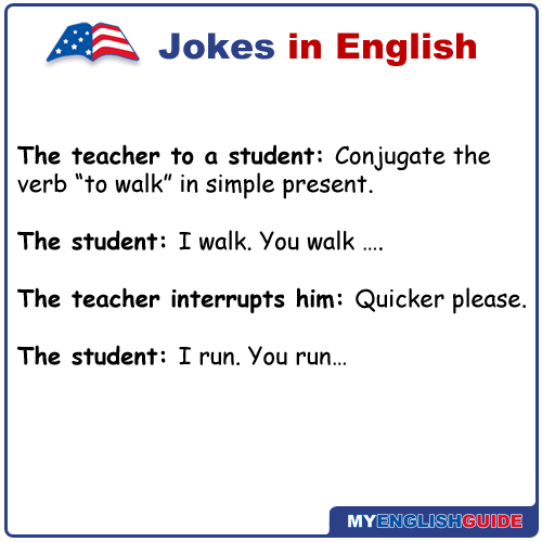 Learn English Free. The teacher to a student: Conjugate ...