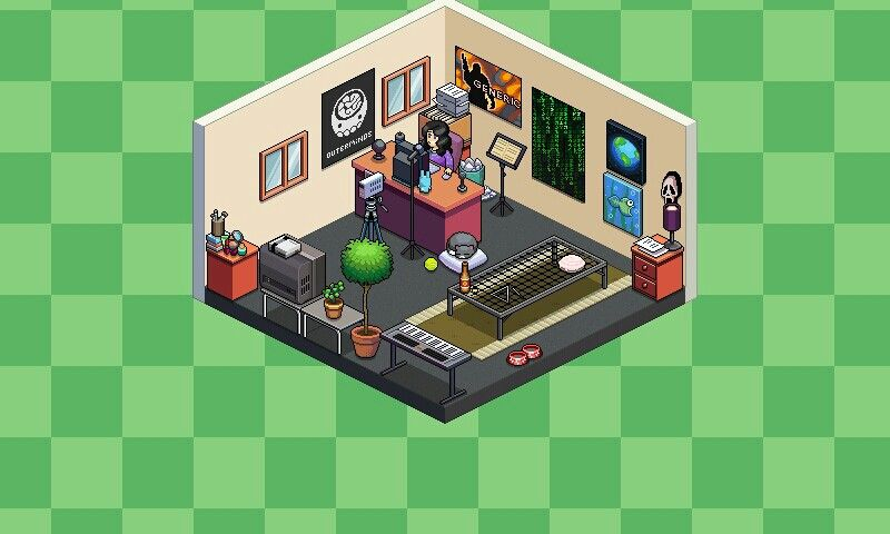 Tuber Simulator Room Ideas My room in pewdiepie tuber simulator
