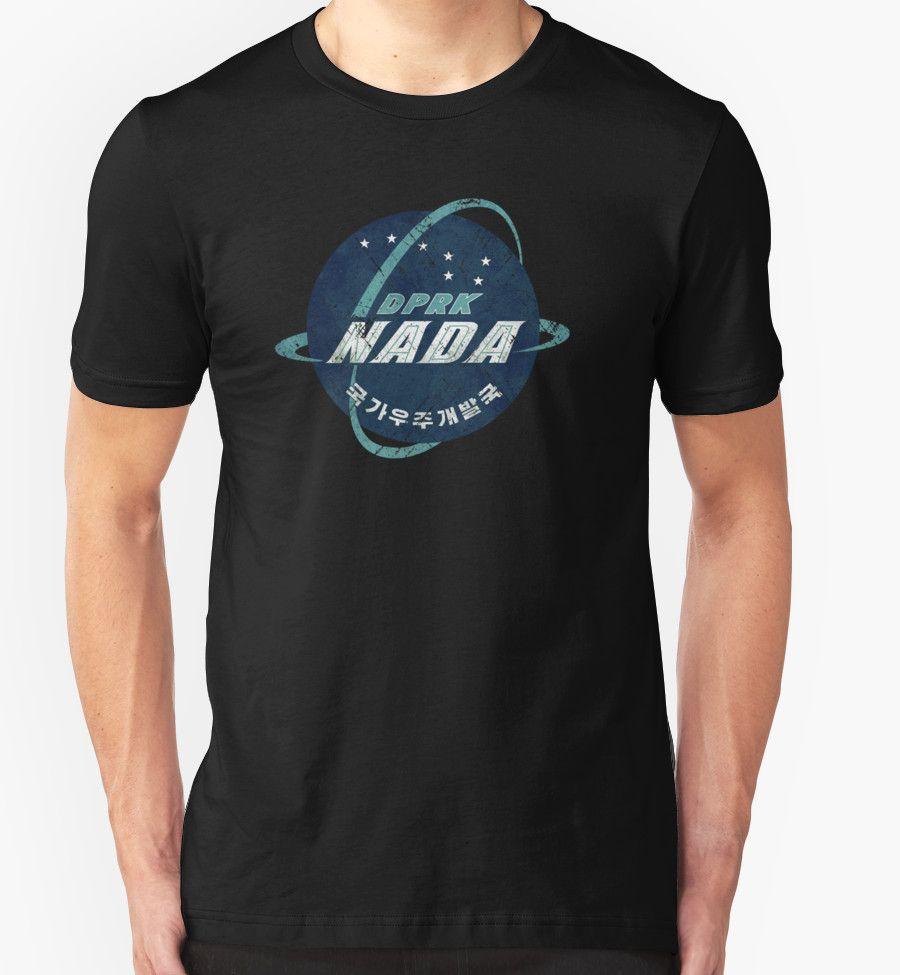 """North Korean Space Agency Vintage Emblem"" T-Shirts & Hoodies by Lidra   Redbubble"