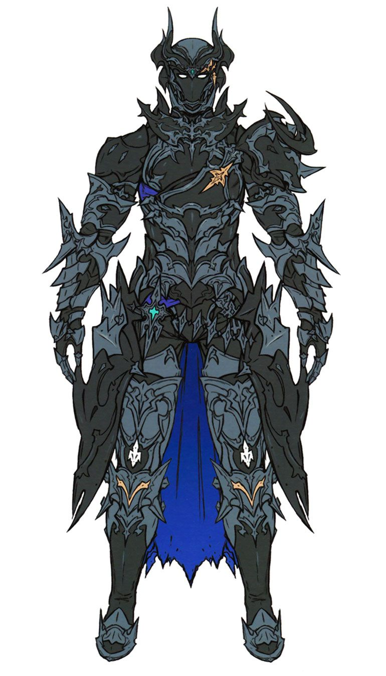 Dark Knight & Abyss Armor from Final Fantasy XIV: Stormblood