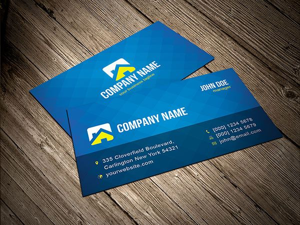 card business design free