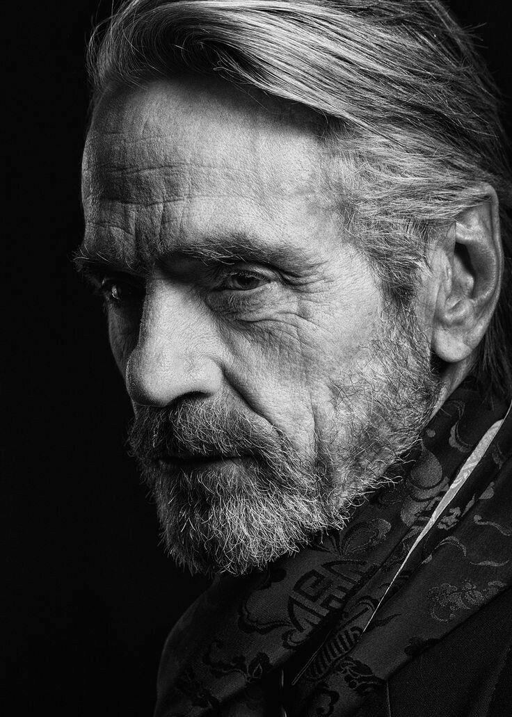Jeremy Irons (b.1948) an English actor. | Portrait, Male portrait ...