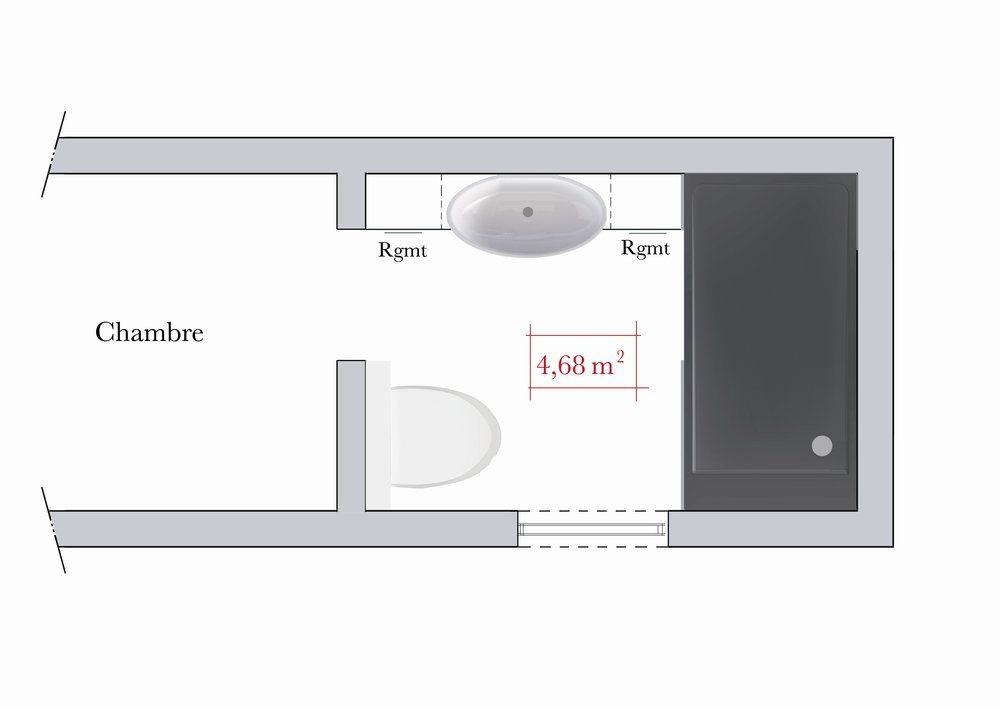 Conseils d\u0027architecte  4 plans de salle de bain rectangulaire