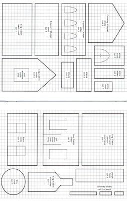Pin By Maria Pavon On How To Pics To Paint Gingerbread House Patterns Gingerbread House Template Gingerbread House Template Printable