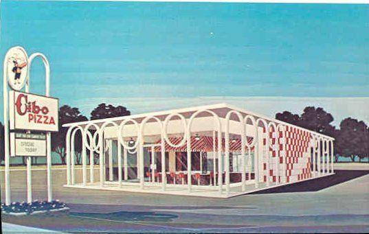 old Cibo Pizza location, Memphis, TN - 1960s by ⓑⓘⓡⓒⓗ from memphis, via Flickr