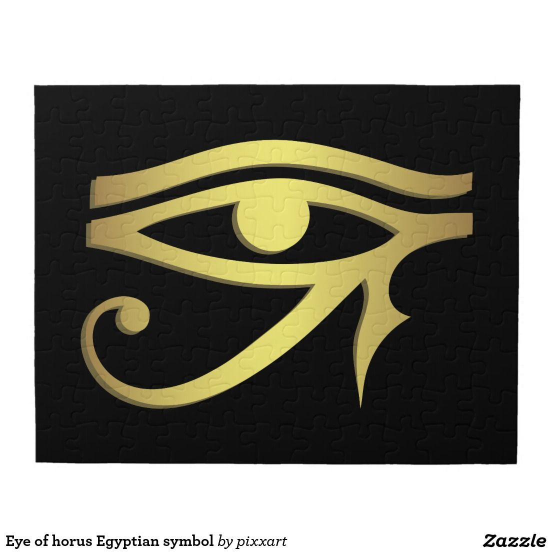 Eye of horus Egyptian symbol Jigsaw Puzzle