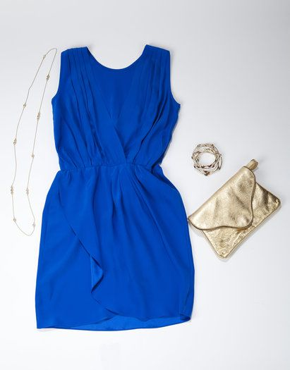 Scout & Molly's of Charlotte. 3920 Sharon Road, Suite B150. www.scoutandmollysofcharlotte.com. Towne & Reese necklace. $30. Towne & Reese bangles (set of three). $40. Amanda Uprichard dress. $196.