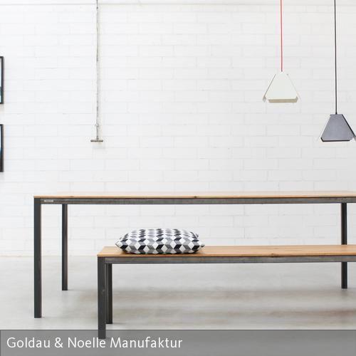 Esstisch CARL - Loftstyle für Dein Zuhause Esstische - moderne massivholz esstische