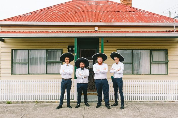 Groom and Groomsmen| Mexican inspired wedding theme | i take you #wedding