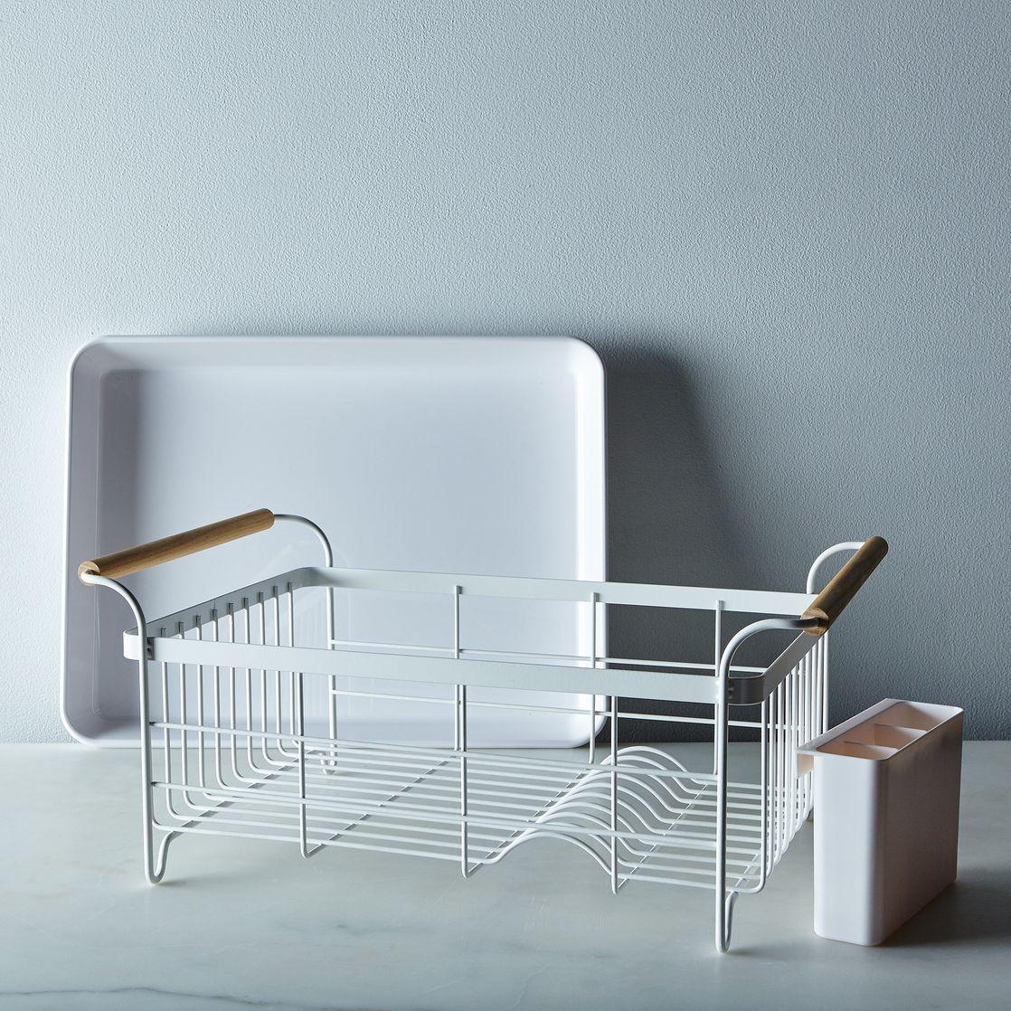 Wood-Handled Dish Rack   Dish racks, Woods and Kitchens
