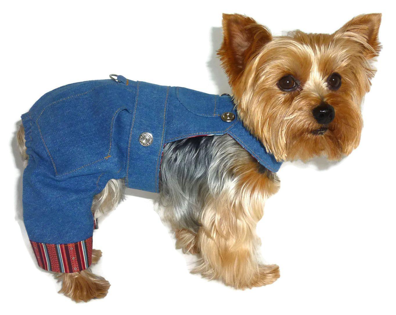 How to sew overalls for dogs 33