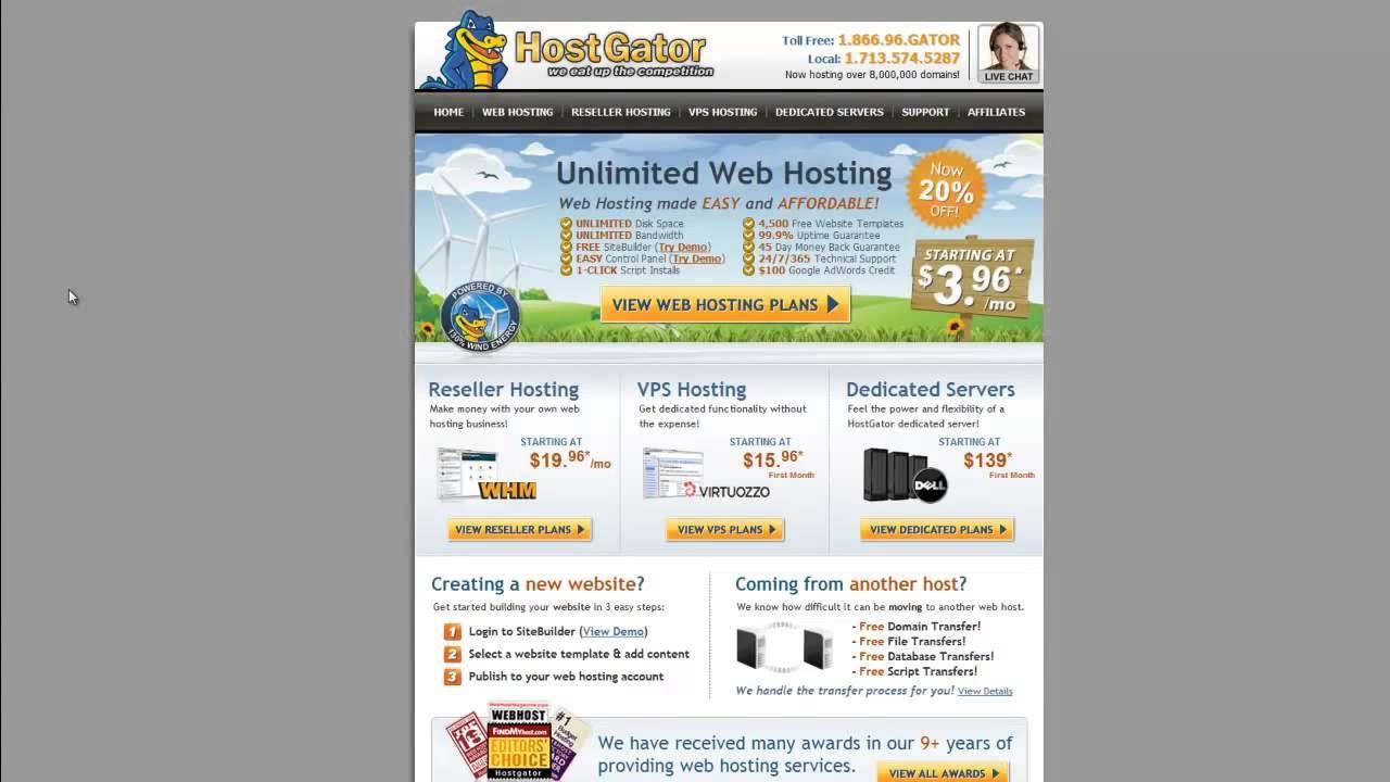News Videos More GoDaddy Vs BlueHost Vs HostGator Who Is The - Hostgator website templates