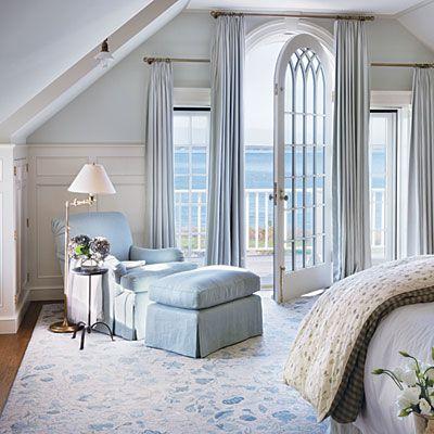 Victoria Hagan Lookbook Beach House Interior Design Light Blue Bedroom Home