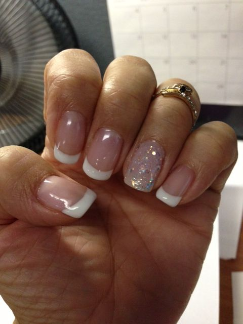 Pin By Liz Vazquez On My Style French Gel Nail Designs French Manicure Gel Nails French Tip Nail Designs