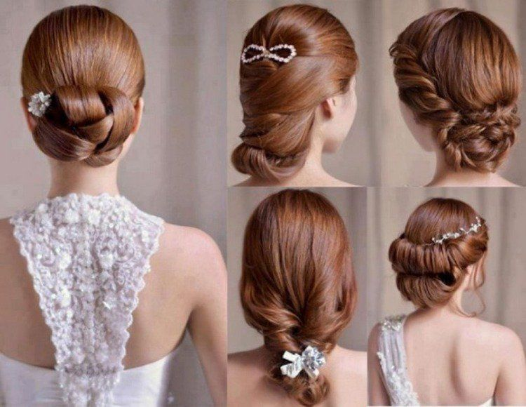 Top Coiffure de mariage et bijoux de cheveux- 55 idées tendance | Hair  US64