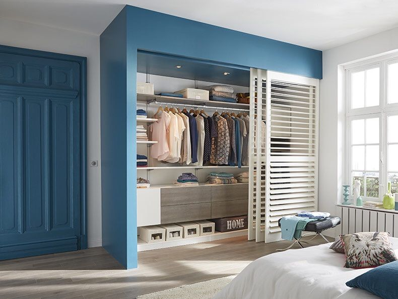 shutter door for closet Ideas para el hogar Pinterest Armario