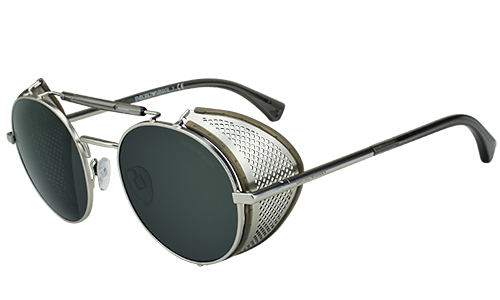 4c7854bc2148 Got to love these new Emporio Armani sunglasses! Taking steampunk to the  next level!