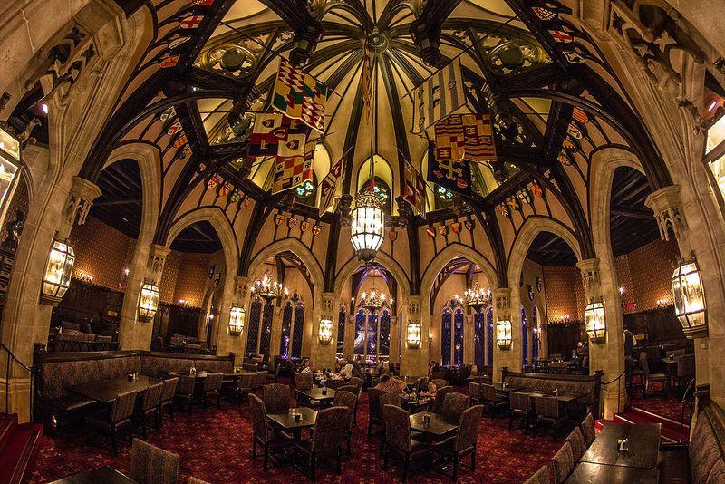 Cinderella S Royal Table Cinderella Royal Table Magic Kingdom