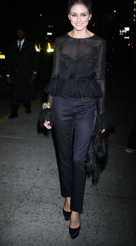 Olivia Palermo at 'The Ever Changing Face of Beauty' W Magazine Party
