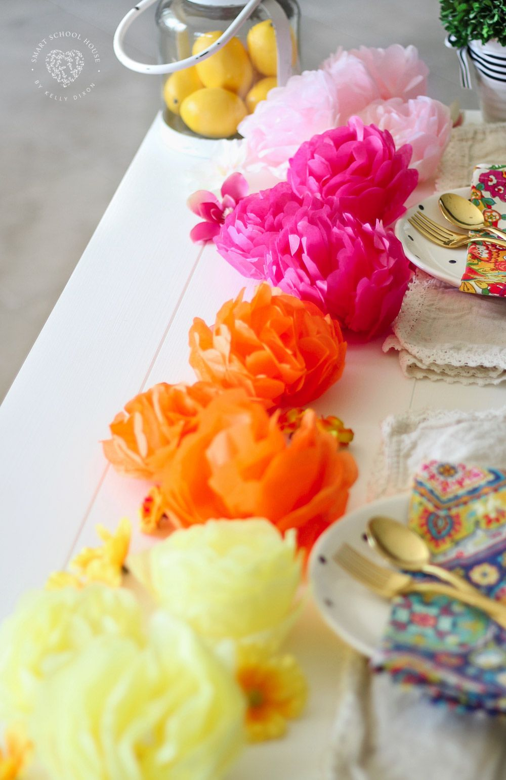 How To Make Tissue Paper Flowers Pinterest Best Pinterest