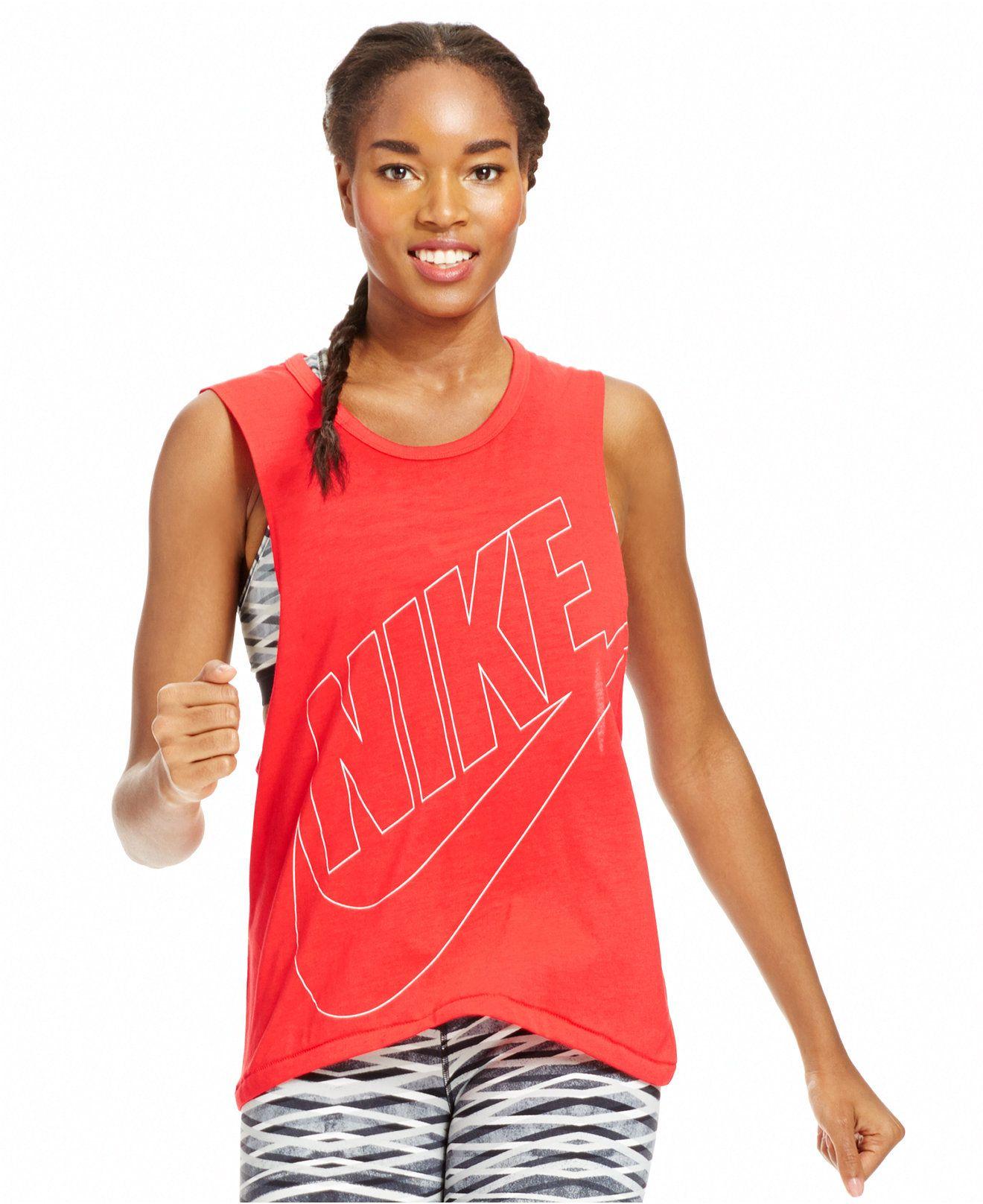7baa9e545c93 Nike Signal Muscle Tank - Tops - Women - Macy s