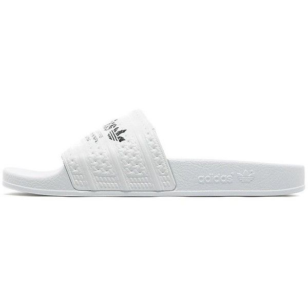 0884be04b ... adidas Originals Adilette Flip Flops (€31) ❤ liked on Polyvore  featuring men s fashion ...