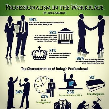 Professionalism in the workplace Source theunderrecruiter - professionalism in the workplace