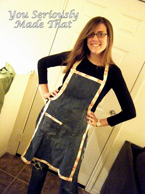 Im making a bunch of these with all of my old jeans! Woo Hoo