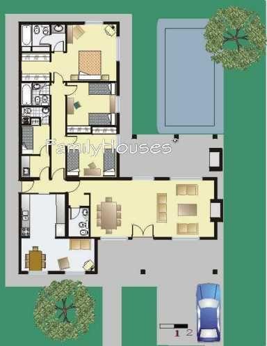 Casa Remanso Estilo campo argentino carla Pinterest Lofts - plan maison plain pied 80m2