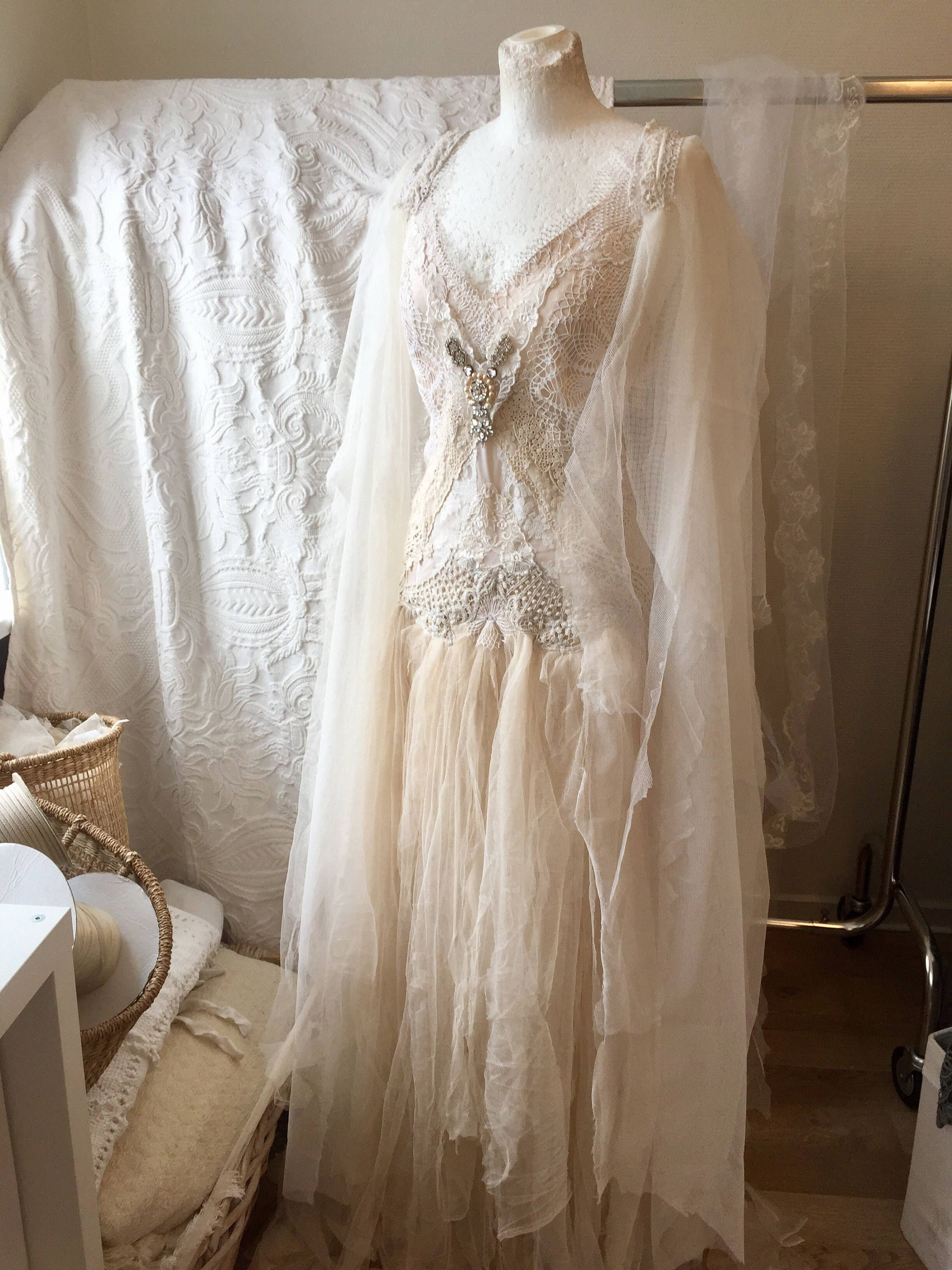 Boho wedding dress strong and femininfairy wedding dress boho