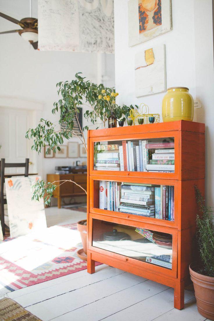 Home interior colors orange home interior colour storage vintage furniture living room