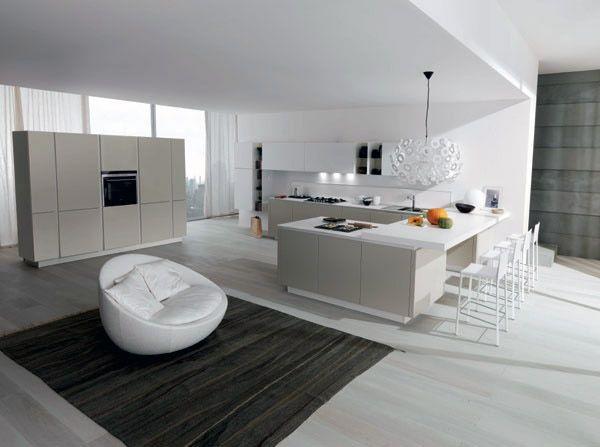 Cucina moderna FiloEscape di Euromobil: un\'innovativa composizione ...